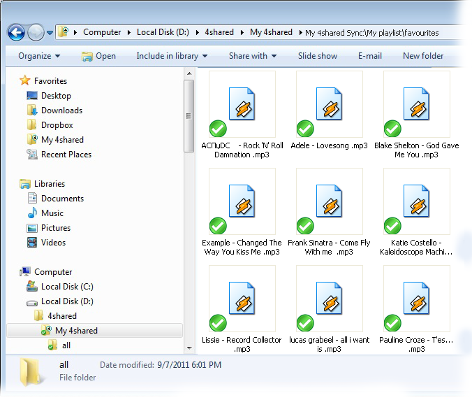 how to delete keep in sync folder