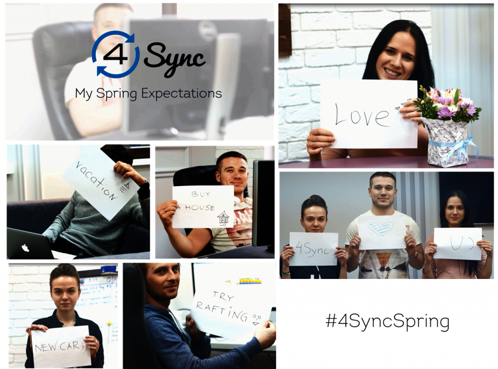 My Spring Expectations Project by 4Sync