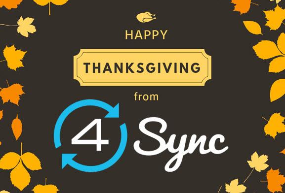 Happy Thanksgiving_4Sync